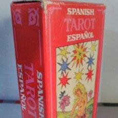 Barajas de cartas: TAROT ESPAÑOL.CARTAS+FOLLETO INSTRUCCIONES. FOURNIER.. Lote 180949087