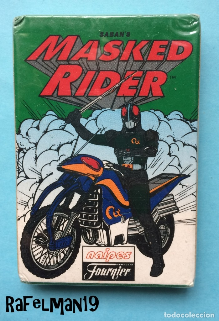 MASKED RIDER - NAIPES FOURNIER - PRECINTADA (Juguetes y Juegos - Cartas y Naipes - Barajas Infantiles)