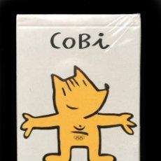 Baralhos de cartas: COBI , BARCELONA 92 - NAIPES INFANTILES FOURNIER - PRECINTADA ORIGINAL DE FABRICA. Lote 181149556