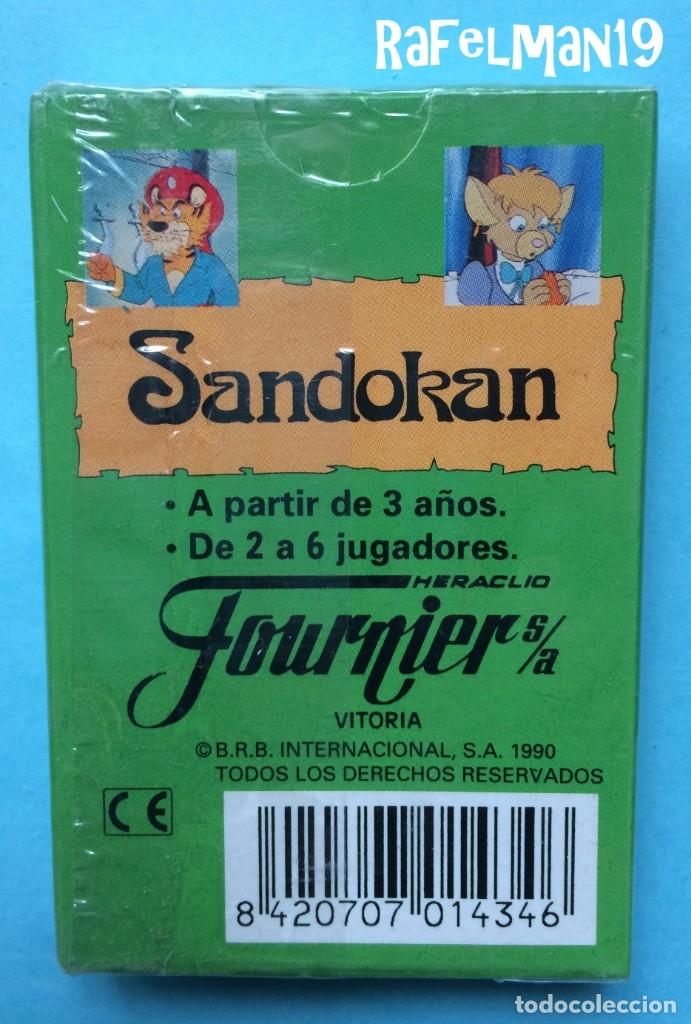 Barajas de cartas: SANDOKAN- B.R.B. INTERNACIONAL - NAIPES INFANTILES FOURNIER - PRECINTADA ORIGINAL DE FABRICA - Foto 2 - 213656591