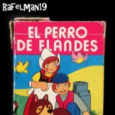 Barajas de cartas: EL PERRO DE FLANDES - NAIPES INFANTILES FOURNIER - . Lote 181151437