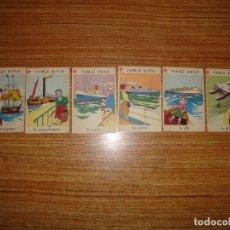 Jeux de cartes: (ALB-TC-202) LOTE DE 6 NAIPES CARTAS JUEGO DE FAMILIAS FRANCES . Lote 181199305