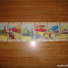 Jeux de cartes: (ALB-TC-202) LOTE DE 6 NAIPES CARTAS JUEGO DE FAMILIAS FRANCES . Lote 181199318