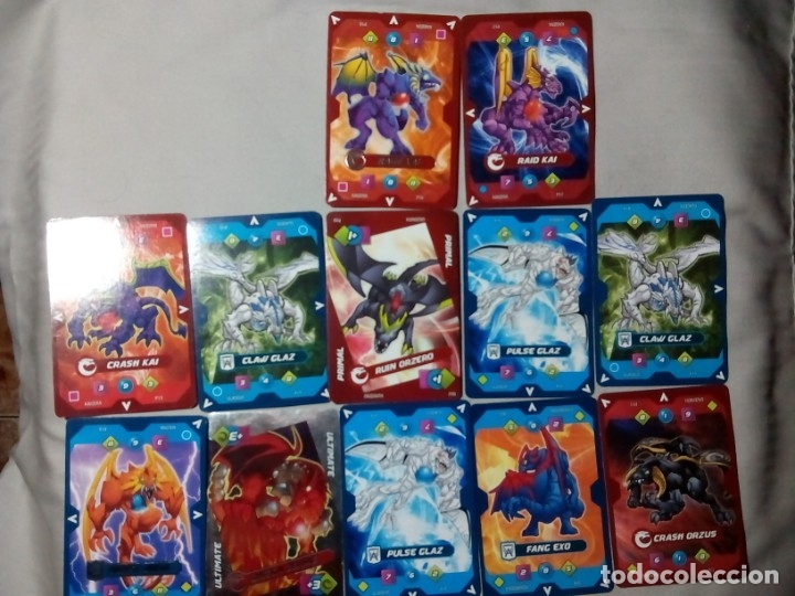 12 CROMOS CARTAS DRAGONS UNIVERSE ENVIO ORDINARIO GRATIS (Juguetes y Juegos - Cartas y Naipes - Barajas Infantiles)