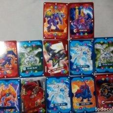 Barajas de cartas: 12 CROMOS CARTAS DRAGONS UNIVERSE. Lote 181209930