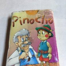 Barajas de cartas: JUEGO DE NAIPES INFANTILES - PINOCHO - JUEGO DE PAREJAS - COMPLETA - CUARTETOS. Lote 181318532