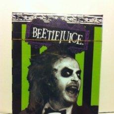 Barajas de cartas: BEETLEJUICE- 52 PLAYING CARDS - PRECINTADAS--POKER. Lote 181350361