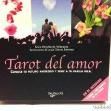 Barajas de cartas: TAROT DEL AMOR - COMPLETO 22 CARTAS - NUEVO. Lote 181357060