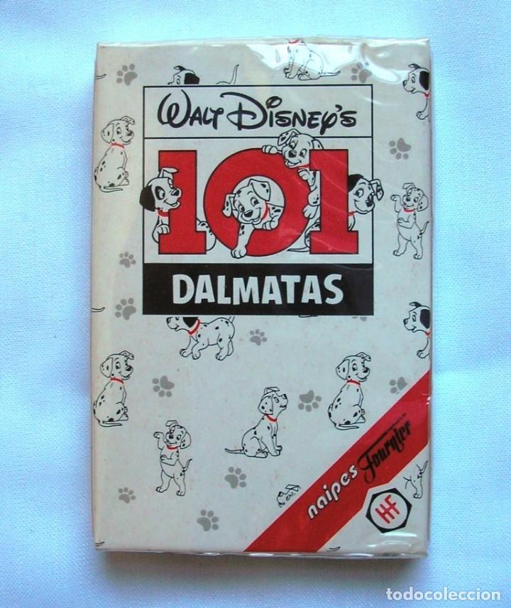 BARAJA CARTAS DE HERACLIO FOURNIER 101 DALMATAS (Juguetes y Juegos - Cartas y Naipes - Barajas Infantiles)