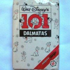 Jeux de cartes: BARAJA CARTAS DE HERACLIO FOURNIER 101 DALMATAS. Lote 181423861