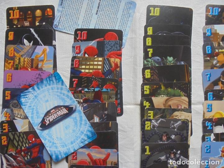 Barajas de cartas: Baraja juego cartas Spiderman - Foto 2 - 181471156