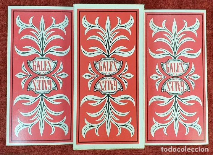 Barajas de cartas: JUEGO DE CARTAS DEL TAROT. 24 CARTAS. GRANDES ARCANOS. GALES-TUSET. 1968. - Foto 4 - 181557002