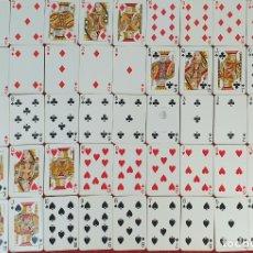 Barajas de cartas: JUEGO DE 52 CARTAS. POKER. HERACLIO FOURNIER. ESPAÑA. TIMBRE. CIRCA 1950. . Lote 181563846