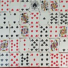 Barajas de cartas: JUEGO DE 52 CARTAS. POKER. HERACLIO FOURNIER. REVERSO FRANCISCO DE GOYA. 1930. . Lote 181566271