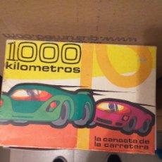 Barajas de cartas: 1000 KILOMETROS. Lote 181573326