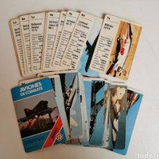 Barajas de cartas: BARAJA AVIONES DE COMBATE FOURNIER AÑOS 80. Lote 188498871