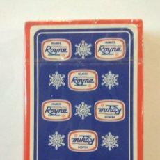 Barajas de cartas: BARAJA DE CARTAS HERACLIO FOURNIER PUBLICIDAD HELADOS ROYNE PRECINTADA 40 CARTAS NAIPES. Lote 181773197