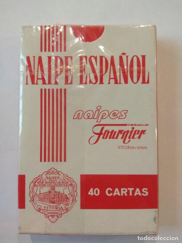 Barajas de cartas: BARAJA DE CARTAS HERACLIO FOURNIER PUBLICIDAD HELADOS ROYNE PRECINTADA 40 CARTAS NAIPES - Foto 2 - 181773197