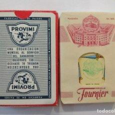 Barajas de cartas: BARAJA DE CARTAS HERACLIO FOURNIER PUBLICIDAD PIENSOS PROVIMI PRECINTADA 54 CARTAS POKER NAIPES. Lote 181774648