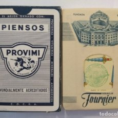 Barajas de cartas: BARAJA DE CARTAS HERACLIO FOURNIER PUBLICIDAD PIENSOS PROVIMI PRECINTADA 54 CARTAS POKER NAIPES. Lote 181774936