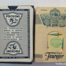Barajas de cartas: BARAJA DE CARTAS HERACLIO FOURNIER PUBLICIDAD PIENSOS PROVIMI PRECINTADA 54 CARTAS POKER NAIPES. Lote 181775496