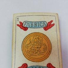 Barajas de cartas: BARAJA ESPAÑOLA ANTIGUA. Lote 181908395