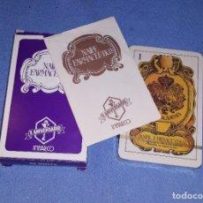 Barajas de cartas: BARAJA NAIPES FARMACEUTICO DIBUJOS M. SINUES X ANIVERSARIO DE INFARCO 40 CARTAS PRECINTADA.. Lote 181990605
