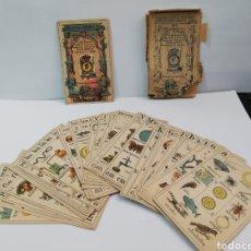 Barajas de cartas: BARAJA RECREO INFANTIL SIGLO XIX. Lote 182072735