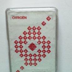 Barajas de cartas: BARAJA ESPAÑOLA CITROEN FOURNIER 40 CARTAS PRECINTADA . Lote 182135075