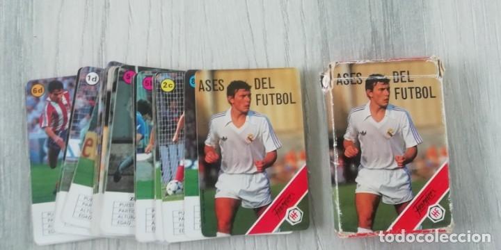 Barajas de cartas: Ases del futbol - Heraclio Fournier (completa) Baraja de cartas Ases del Fútbol Heraclio Fournier, d - Foto 3 - 182176262
