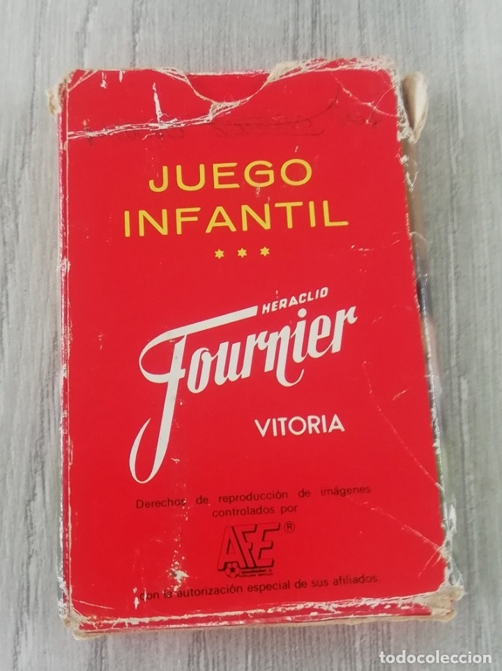 Barajas de cartas: Ases del futbol - Heraclio Fournier (completa) Baraja de cartas Ases del Fútbol Heraclio Fournier, d - Foto 4 - 182176262