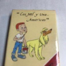 Barajas de cartas: JUEGO DE CARTAS INFANTIL - FOURNIER - LAS MIL Y UNA AMERICAS - EN BLISTER. Lote 182207200