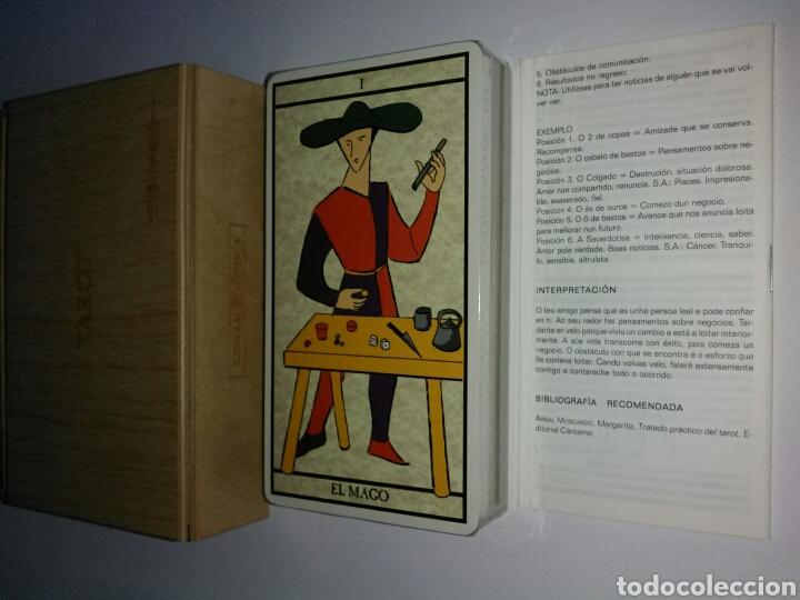 Barajas de cartas: COLECCIONISTA!! TAROT SUBIRACHS.NUEVO - Foto 2 - 182242246