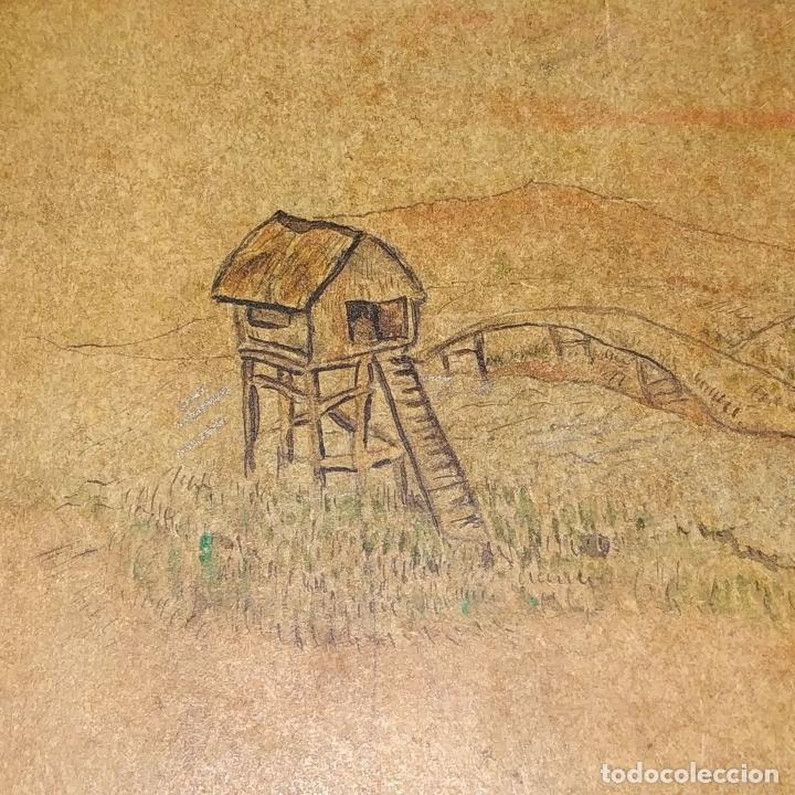 Barajas de cartas: 5 NAIPES UKIYO-E. PINTURA SOBRE CARTÓN. JAPÓN. SIGLO XIX - Foto 8 - 182265243