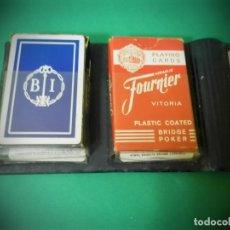 Barajas de cartas: BARAJAS FOURNIER EN CARTERA Y LIBRO DE NOTAS. BANCO IBERICO. Lote 182283293