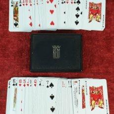 Barajas de cartas: DOBLE JUEGO DE CARTAS. 54 NAIPES CADA UNA. KEM PLAYING CARDS. ESTADOS UNIDOS. 1947. Lote 182369621