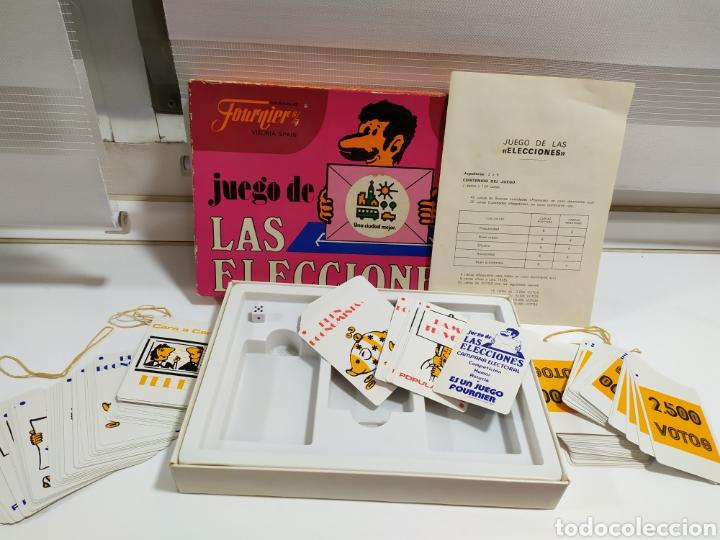Barajas de cartas: JUEGO DE LAS ELECCIONES DE HERACLIO FOURNIER - Foto 3 - 182422075