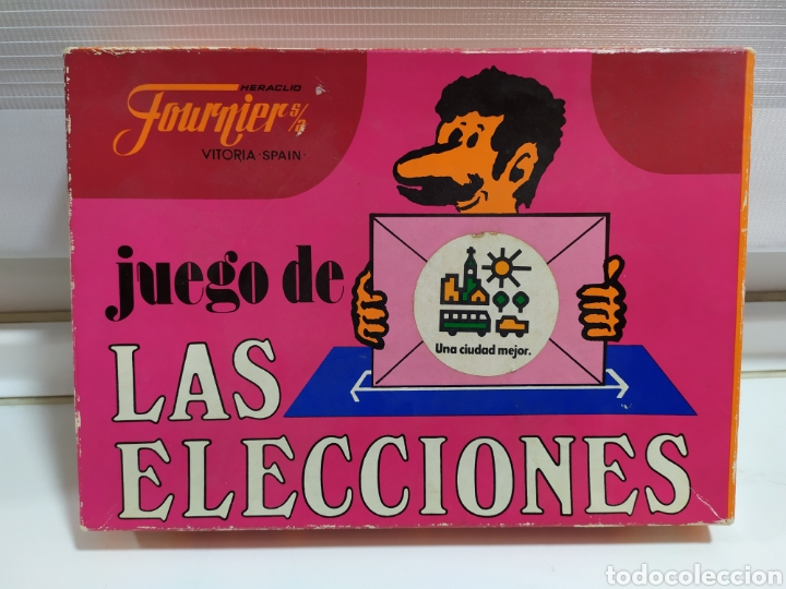 JUEGO DE LAS ELECCIONES DE HERACLIO FOURNIER (Juguetes y Juegos - Cartas y Naipes - Otras Barajas)
