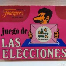 Barajas de cartas: JUEGO DE LAS ELECCIONES DE HERACLIO FOURNIER. Lote 182422075