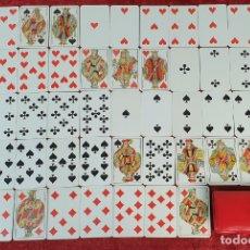 Barajas de cartas: JUEGO DE 52 CARTAS. HERACLIO FOURNIER. CANTOS DORADOS. ESPAÑA. CIRCA 1950. . Lote 182477252