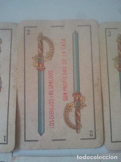 Barajas de cartas: NAIPES DE BARAJA - SEGUNDO DE OLEA - EL HERALDO - PARA CASINOS - Y OTRAS - LOTE DE ANTIGUAS CARTAS - Foto 4 - 182596070