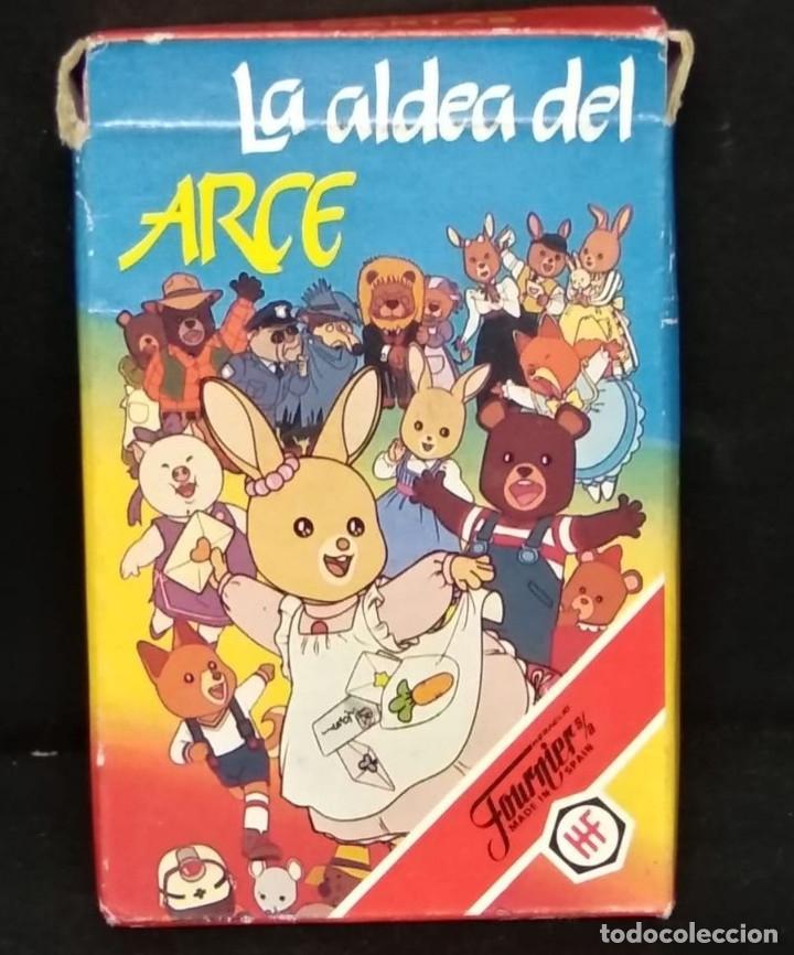 BARAJA LA ALDEA DEL ARCE DE FOURNIER (Juguetes y Juegos - Cartas y Naipes - Barajas Infantiles)