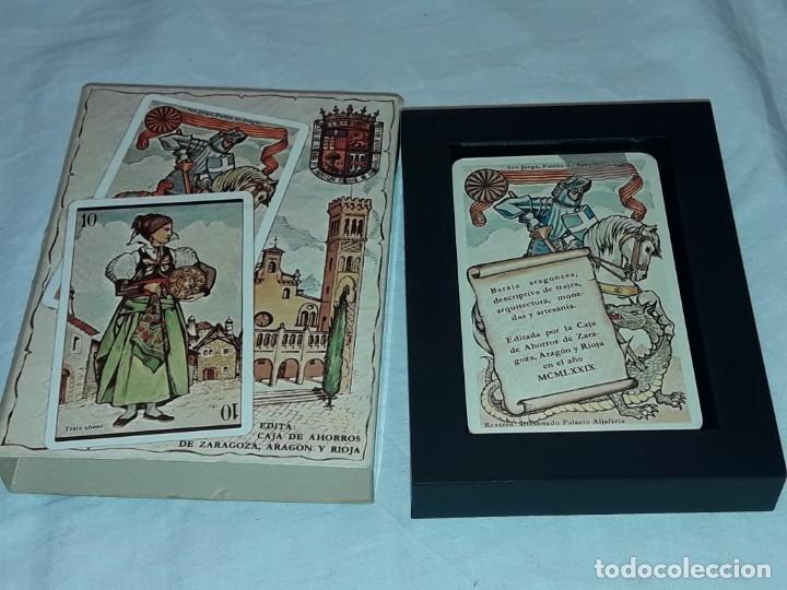 Barajas de cartas: Baraja Aragonesa nueva Descriptiva de trajes, arquitectura, monedas y artesanía - Foto 4 - 182694401
