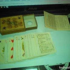 Barajas de cartas: BARAJA POKER CARTAS NAIPES - ROMANCE ESPAÑOL - FOURNIER -- ORIGINAL 1953 -- COMPLETA. Lote 182696658