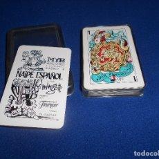 Barajas de cartas: BARAJA. EDICIONES MYR, IMPRESO POR FOURNIER, NAIPE ESPAÑOL ILUSTRADA POR MINGOTE. 1967. Lote 182713725