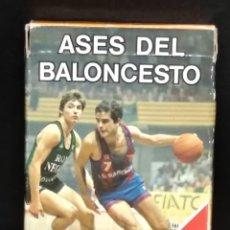 Barajas de cartas: BARAJA ASES DEL BALONCESTO ACBE 1985 DE FOURNIER. Lote 182764466