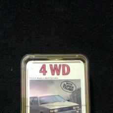 Barajas de cartas: 4 WD ACE TRUMPGAME - NUEVA. Lote 182778803