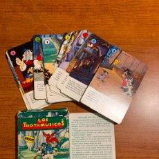 Jeux de cartes: COMPLETA BARAJA DE NAIPES INFANTILES * LOS TROTAMUSICOS * DE FOURNIER 1989.. Lote 182798960