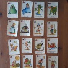 Baralhos de cartas: CARTAS SUELTAS VIKIE EL VIKINGO. Lote 182825456