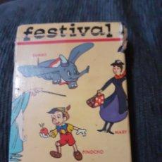 Barajas de cartas: BARAJA FESTIVAL. 1966. Lote 182832901